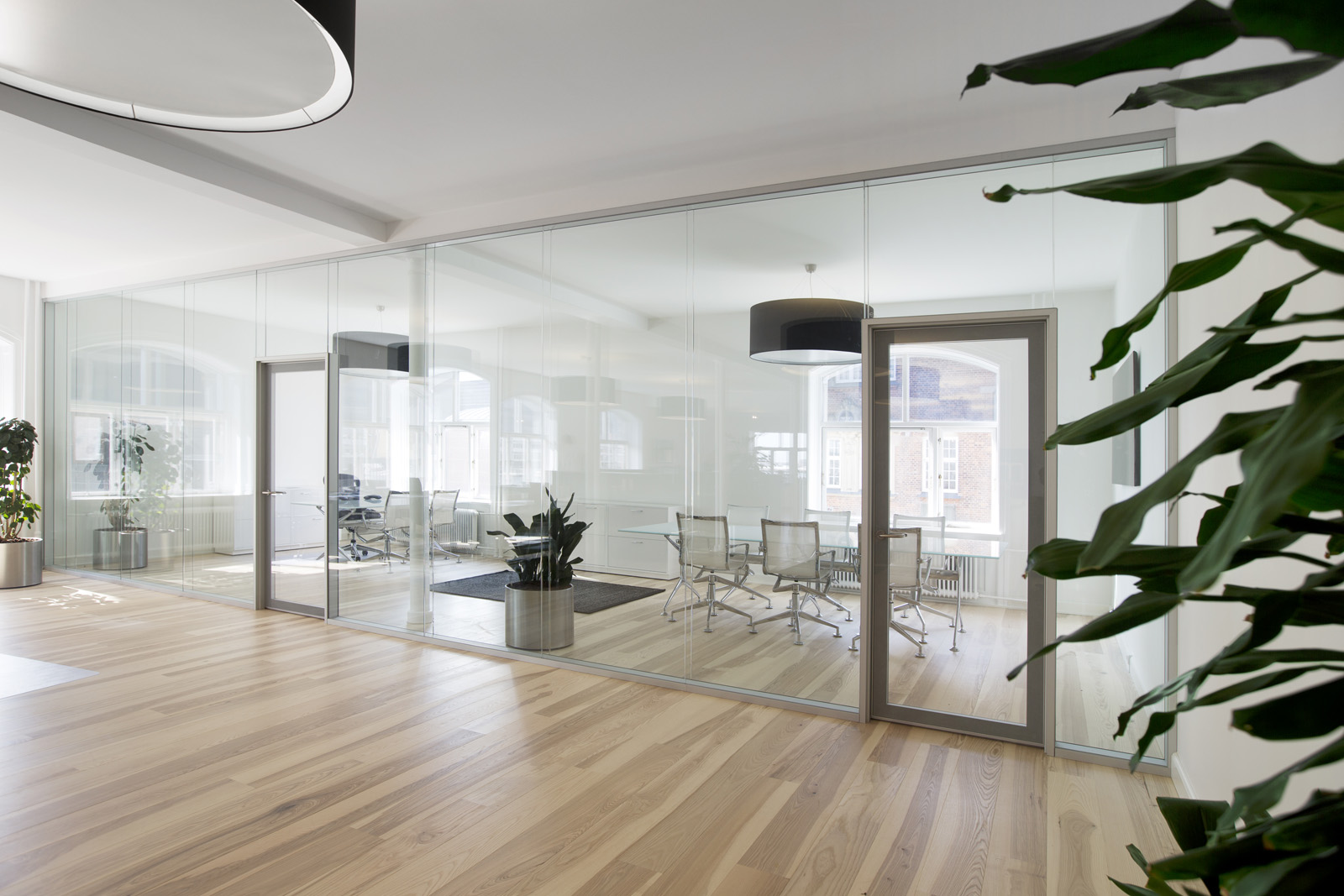 Deko FG 2 – Double glazed partition with a high level of acoustic protection