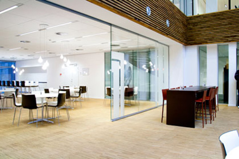 Deko FG Fire – Fully Glazed Partition with Fire Classification