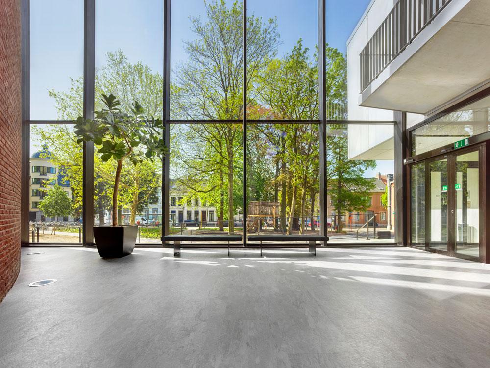 CC Warande Turnhout, nora flooring systems